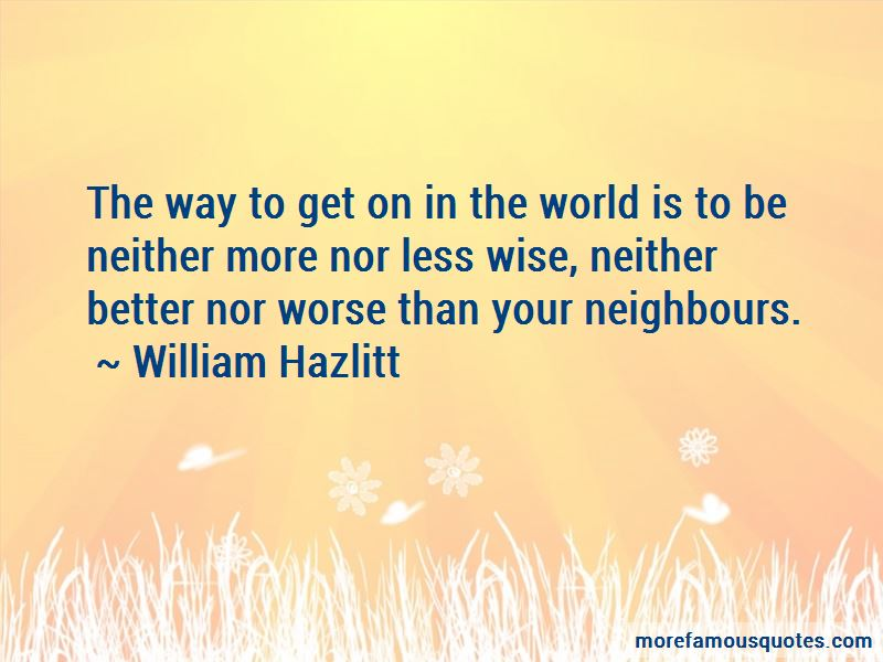 Quotes About Your Neighbours