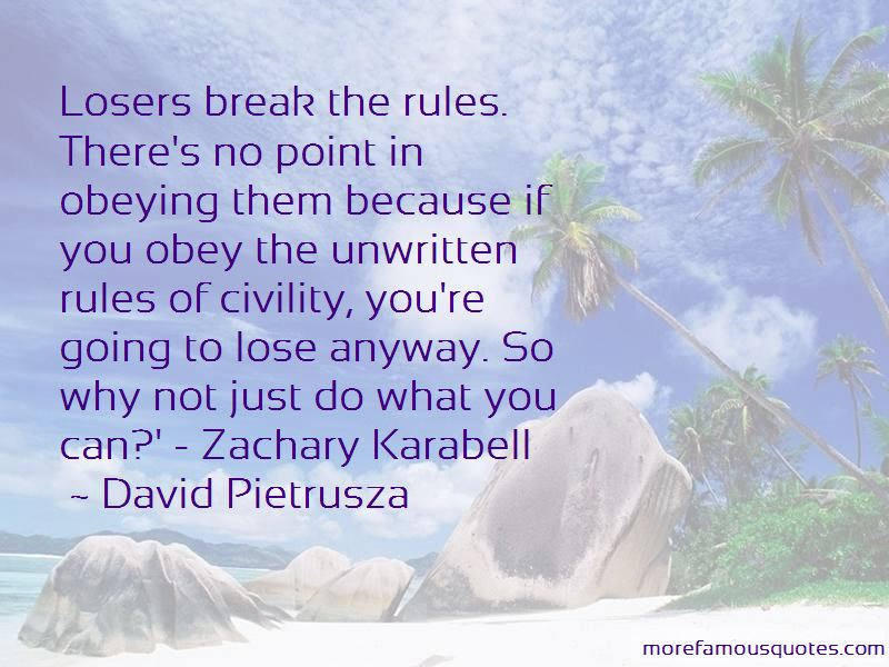 Rules Of Civility Quotes