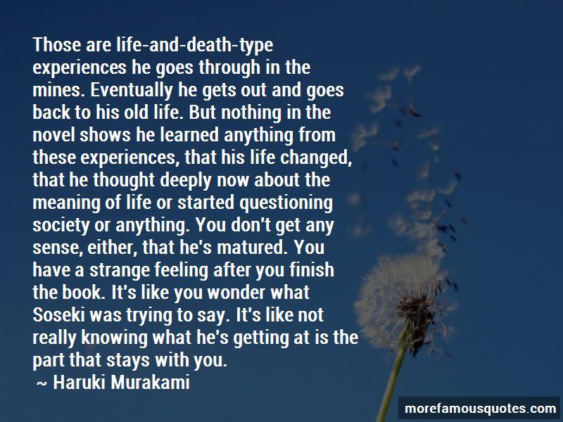 Soseki Quotes