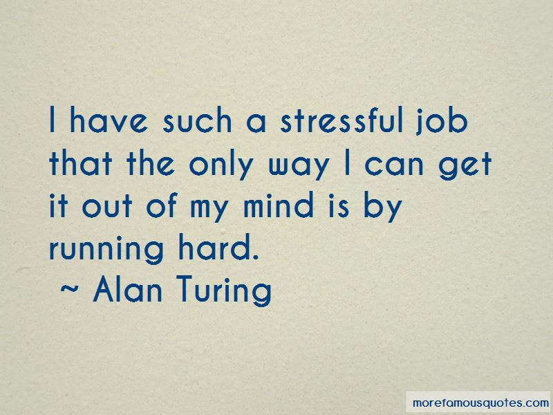 Stressful Job Quotes