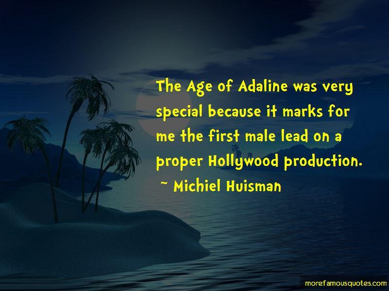 The Age Adaline Quotes