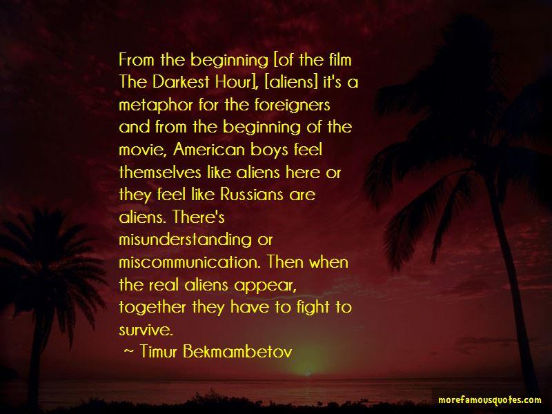 The Darkest Hour Movie Quotes