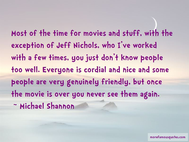 The Time Movie Quotes