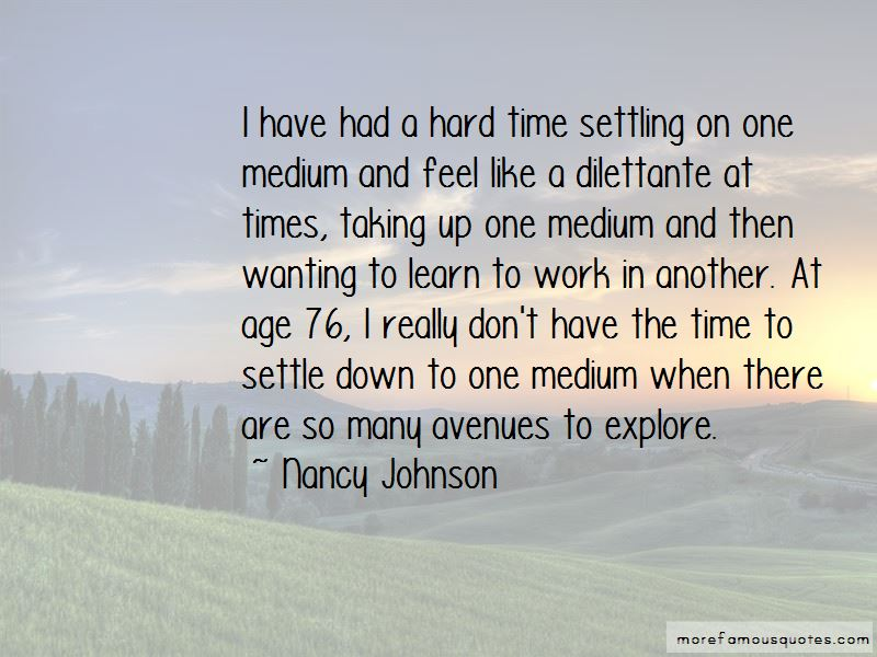 Time Settle Down Quotes Pictures 3