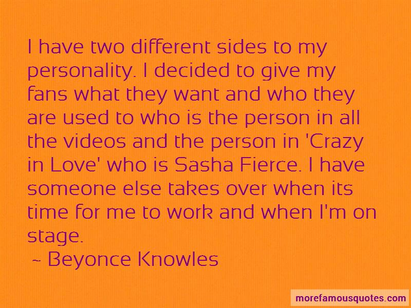 Two Different Sides Quotes