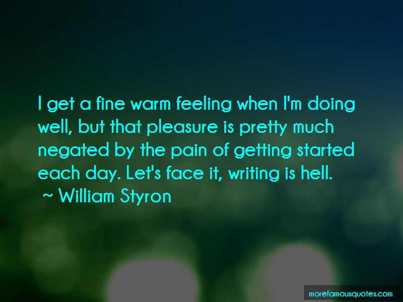 Writing Is Hell Quotes