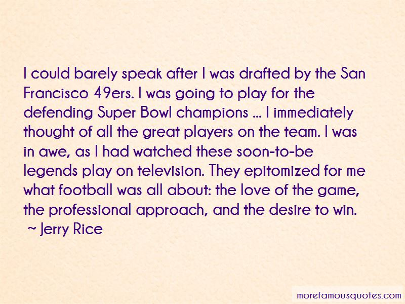 49ers Love Quotes