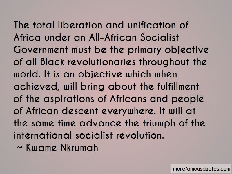 African Revolutionaries Quotes