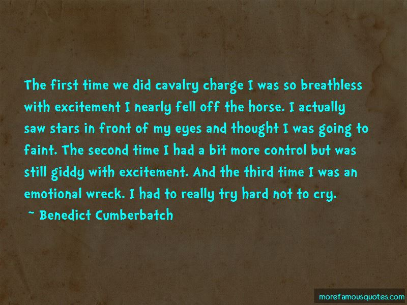 Cavalry Charge Quotes