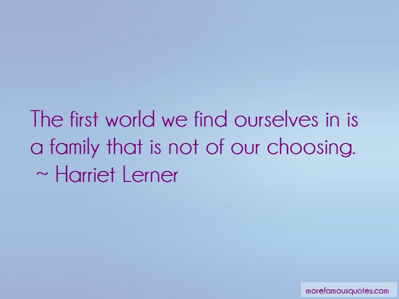 Choosing Family First Quotes