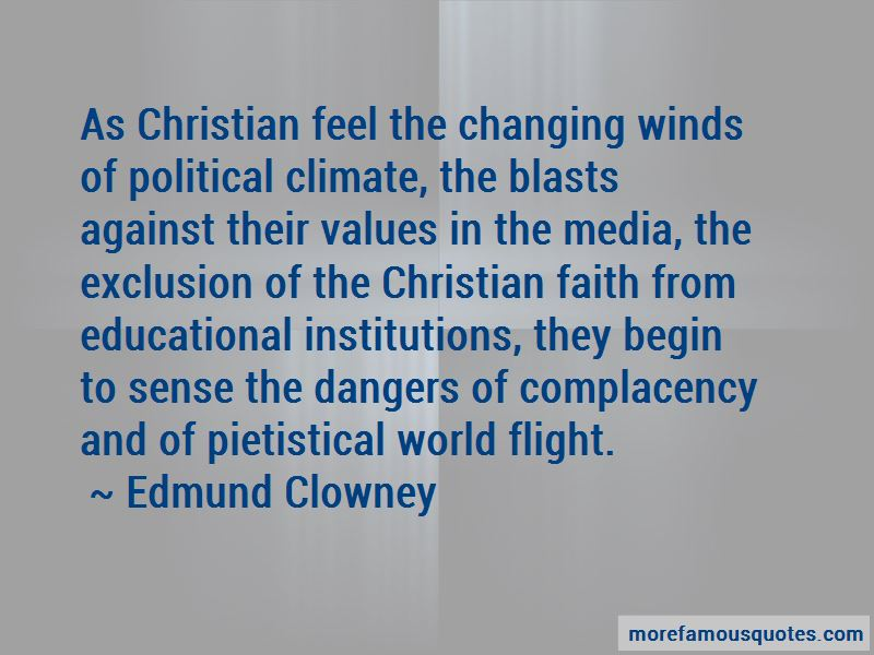 Christian Complacency Quotes