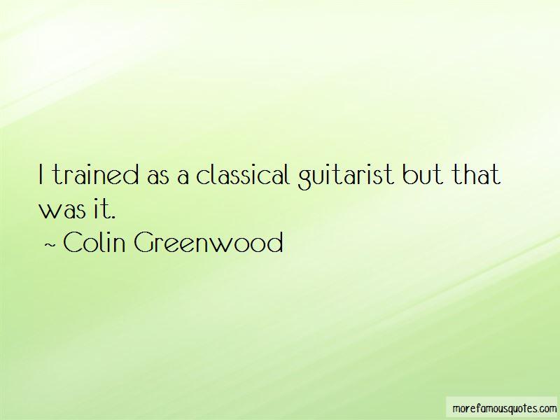 Classical Guitarist Quotes