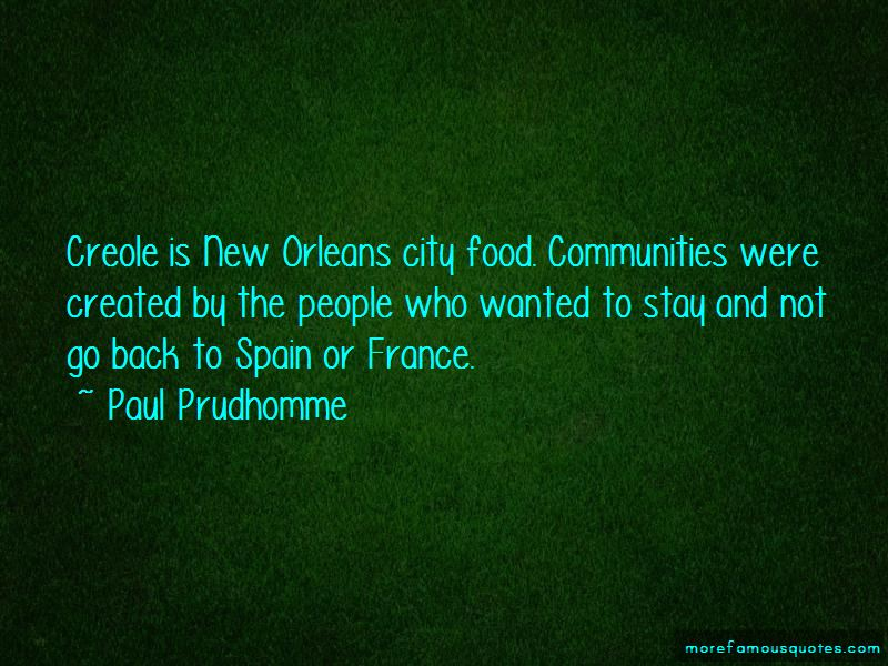 Creole food quotes