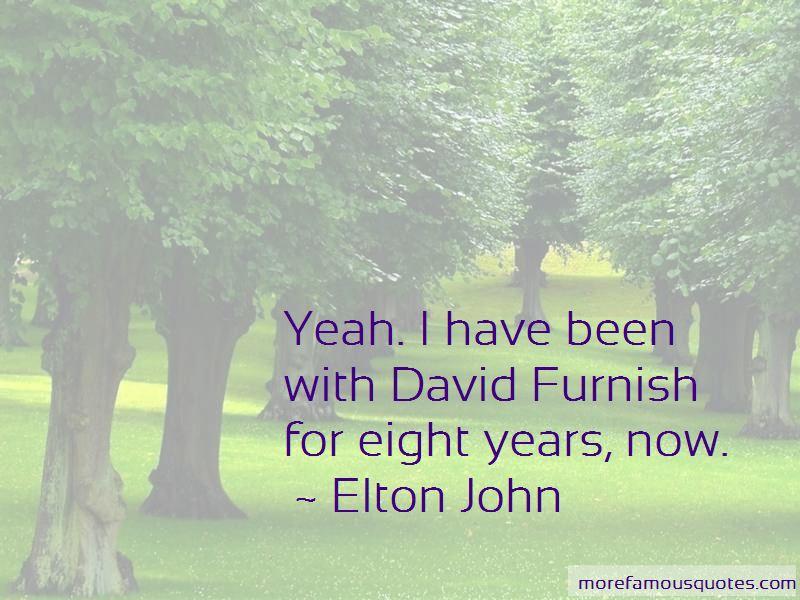 David Furnish Quotes