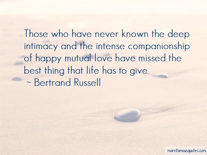 Deep Life And Love Quotes