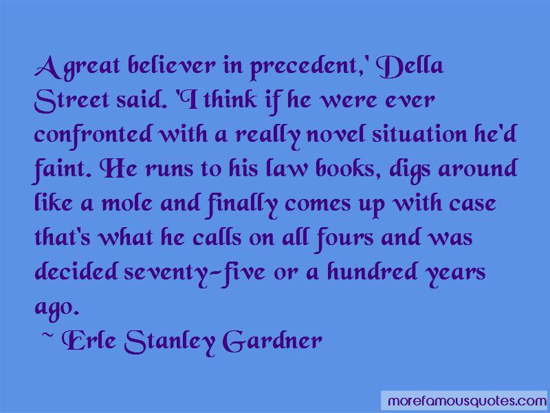 Della Street Quotes