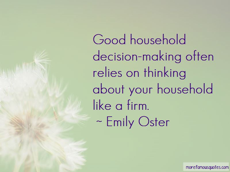 Firm Decision Making Quotes