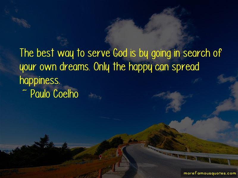 Happy To Serve God Quotes