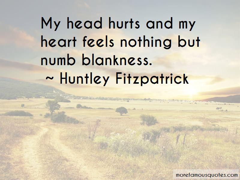 Heart Feels Numb Quotes