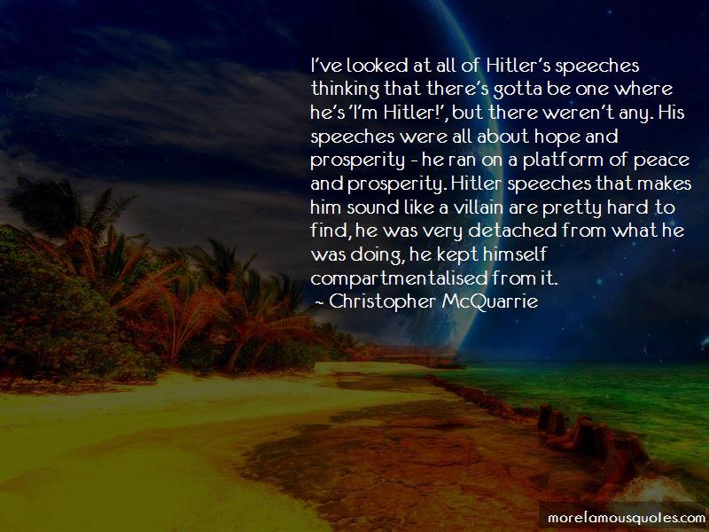 Hitler Speeches Quotes