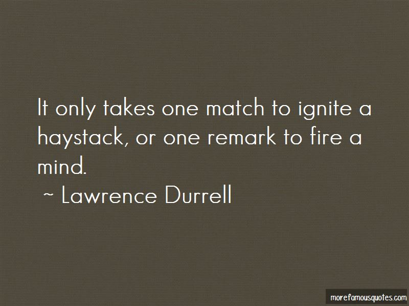 Ignite Fire Quotes