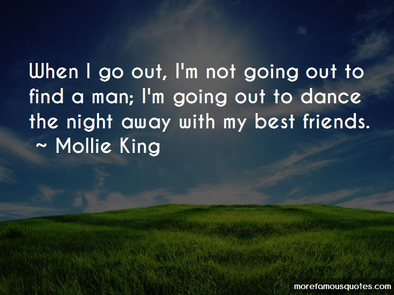 I'm Not Going Out Quotes