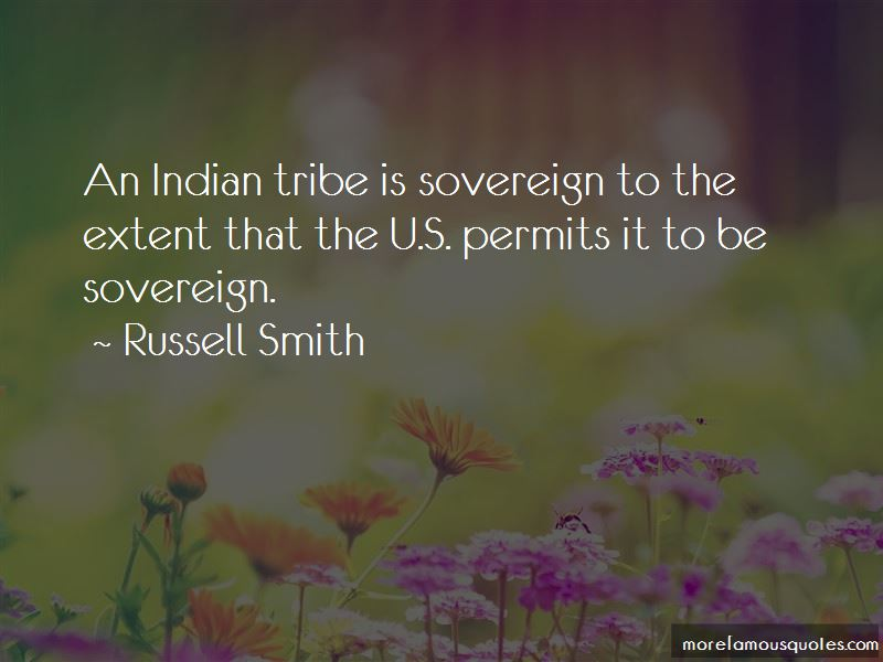 Indian Tribe Quotes