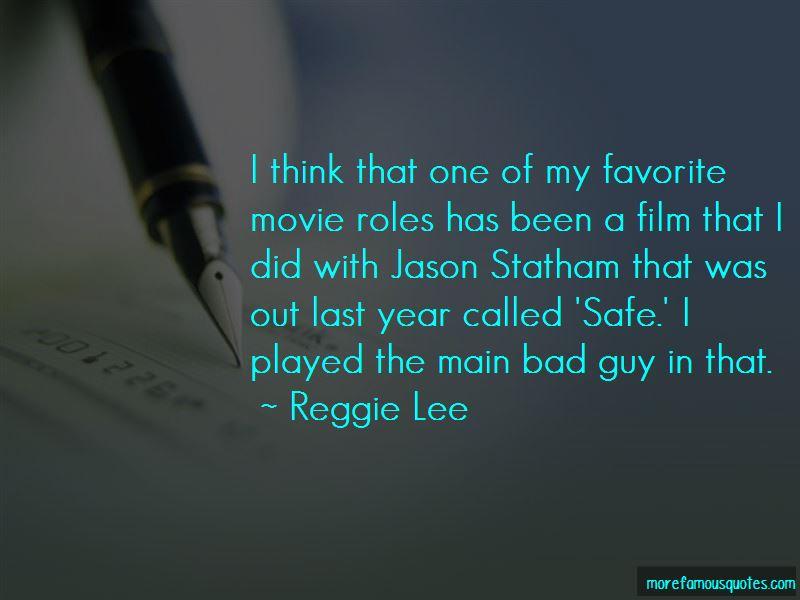 Jason Statham Film Quotes