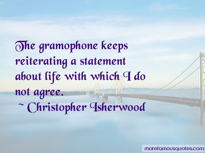 Life Gramophone Quotes Pictures 3