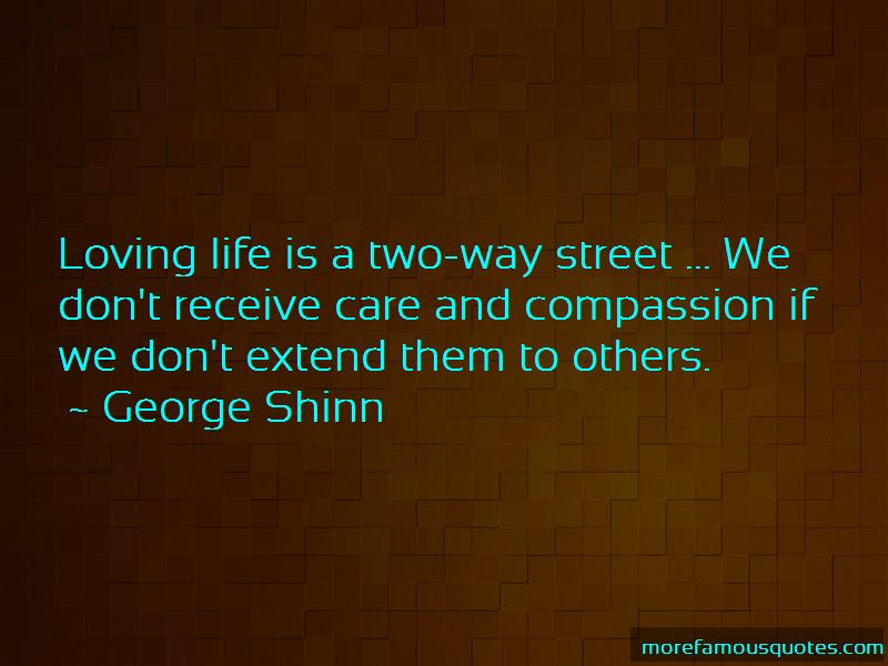 Life Is A Two Way Street Quotes Pictures 2