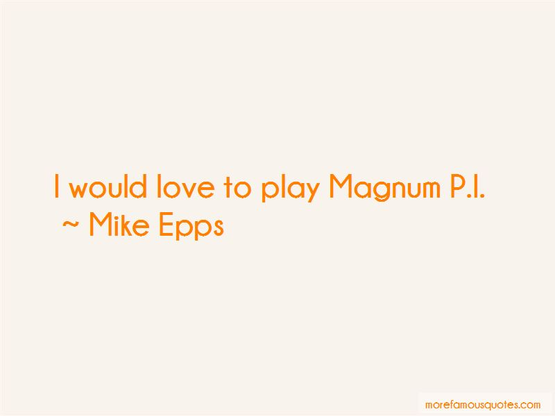 Magnum Pi Quotes