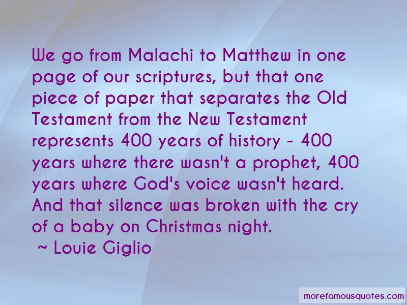 Malachi Quotes