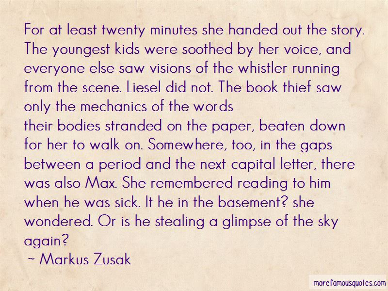 Max Liesel Quotes Pictures 2