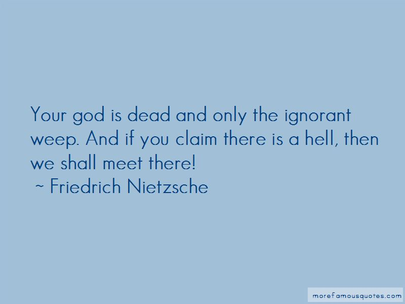Meet Me In Hell Quotes Top 32 Quotes About Meet Me In Hell From