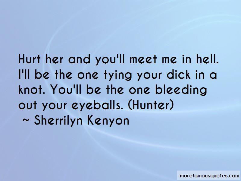 Meet Me In Hell Quotes