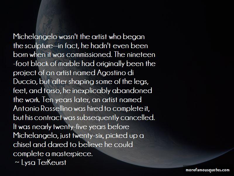 Michelangelo Sculpture Quotes Pictures 4