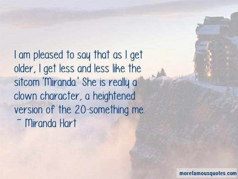 Miranda Are We Quotes