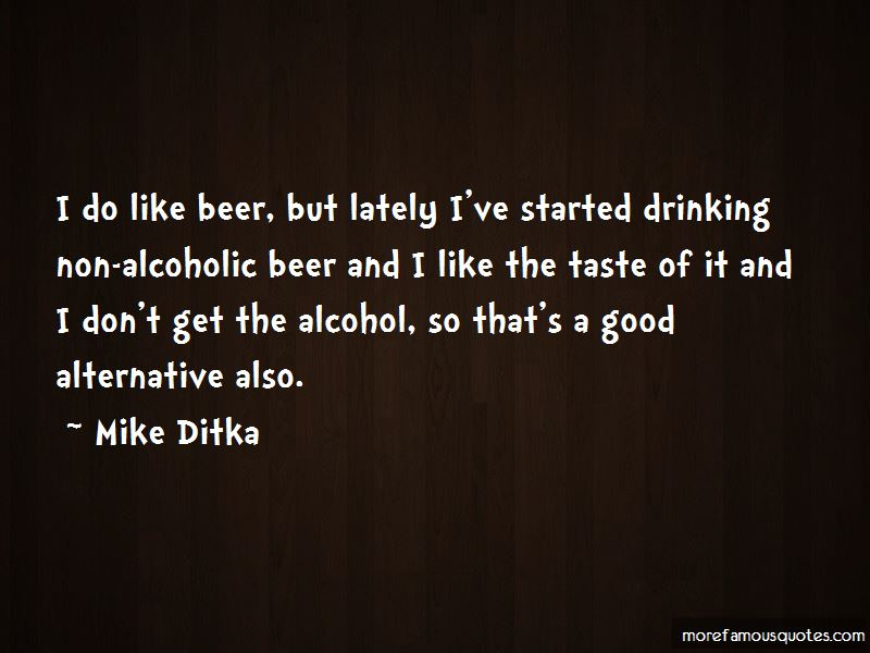Non Drinking Quotes