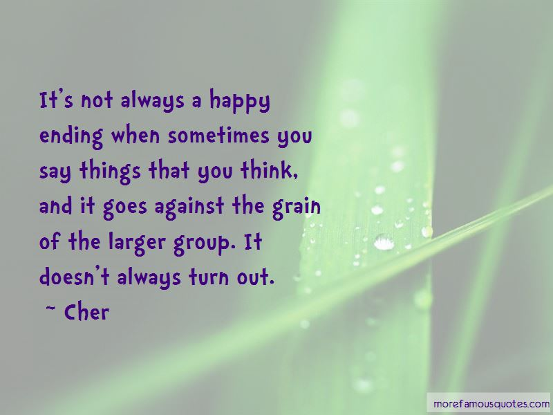 Not Always A Happy Ending Quotes