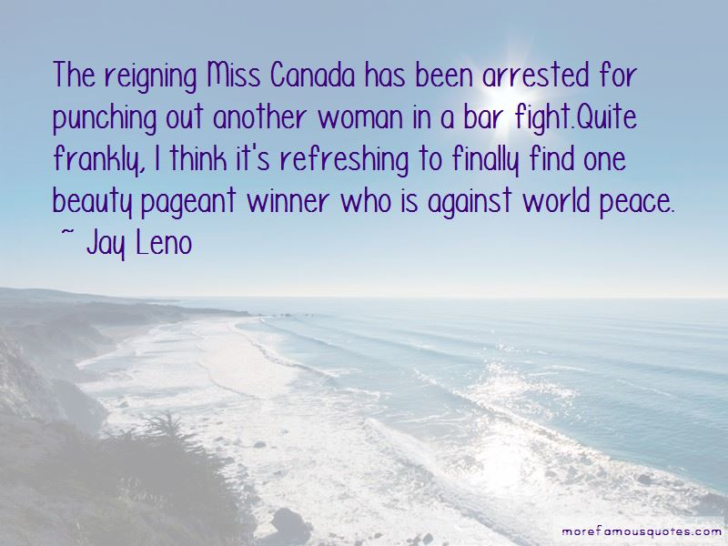 Pageant Winner Quotes
