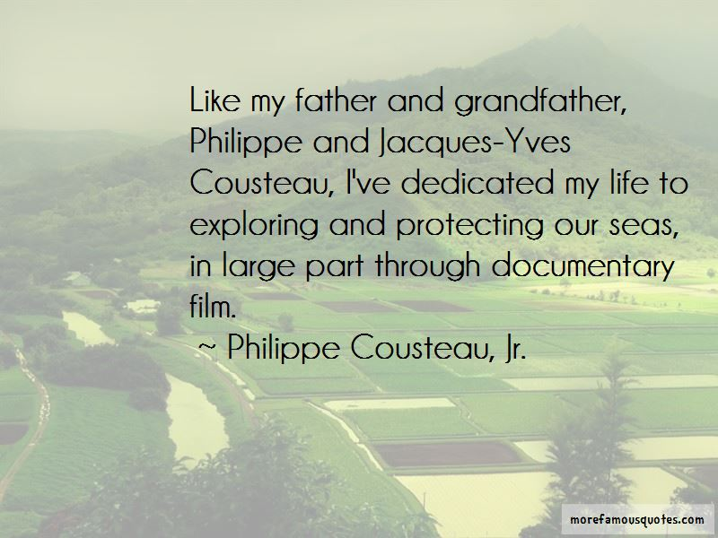 Philippe Cousteau Quotes