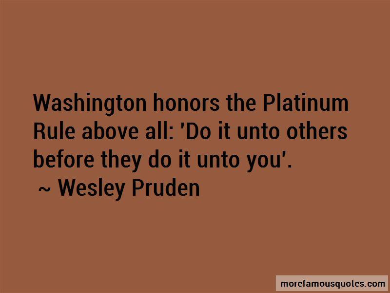 Platinum Rule Quotes