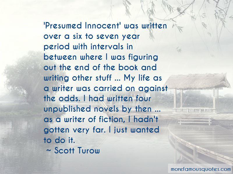 presumed innocent book quotes - Presumed Innocent Book