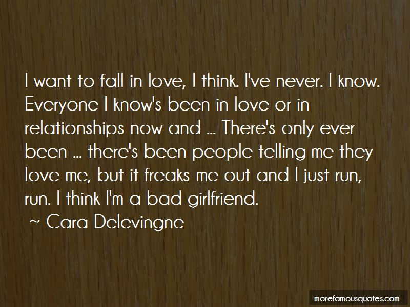 Quotes About A Bad Girlfriend