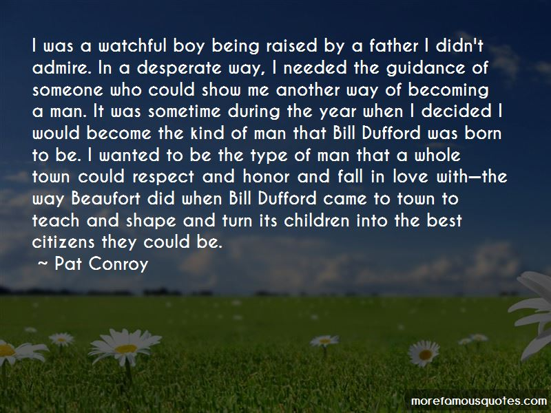 Quotes About A Boy Becoming A Man