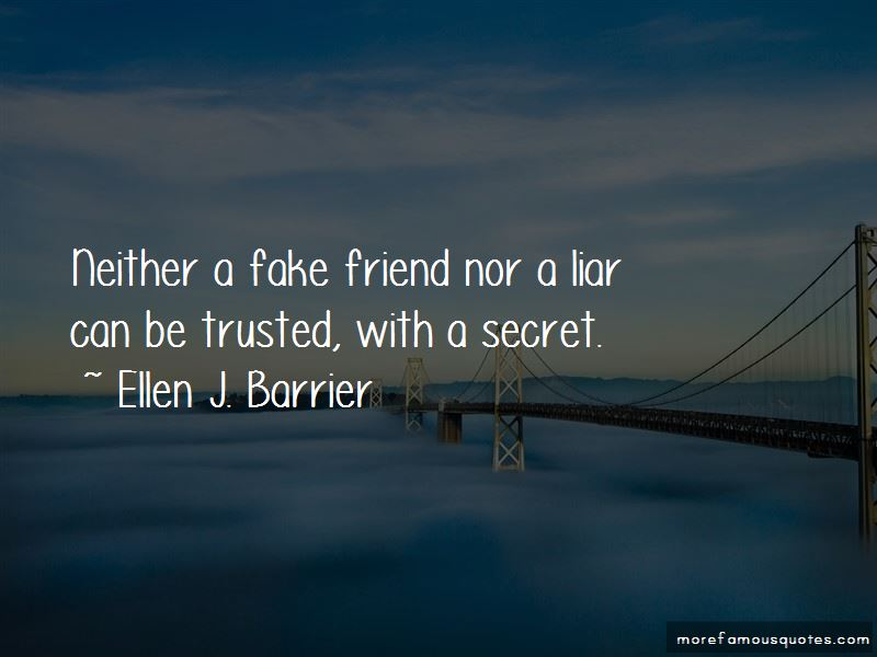 Quotes About A Fake Friend