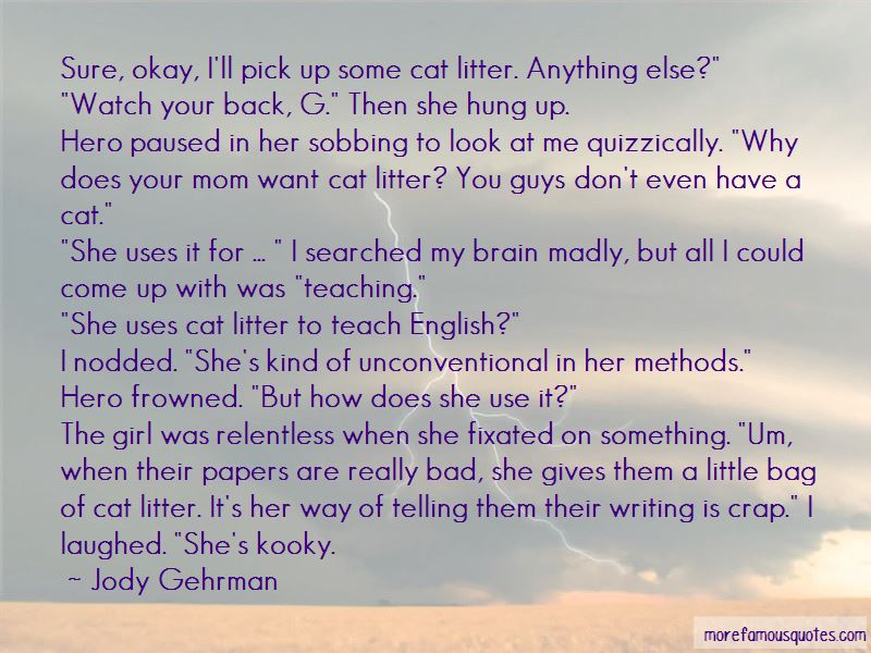 Quotes About A Girl And Her Cat