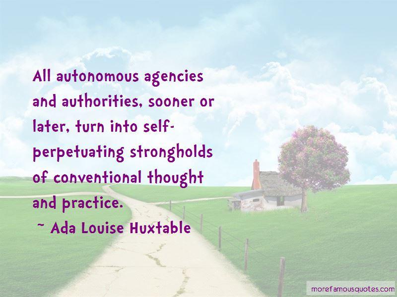 Quotes About Autonomous