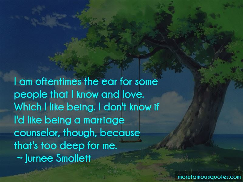 Being Too Deep In Love Quotes Pictures 4