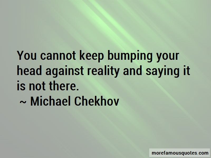 Quotes About Bumping Your Head